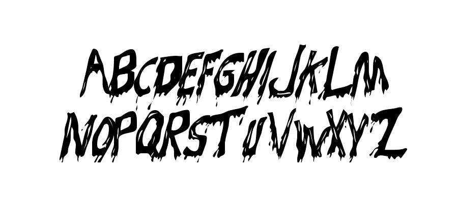 Bloodsuckers free gothic font family