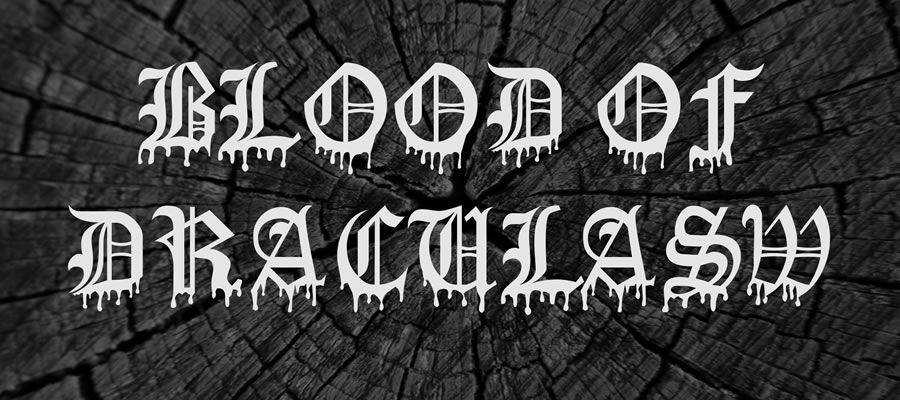 Blood Of DraculaSW free gothic font family