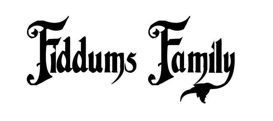 Fiddums Family free gothic font family