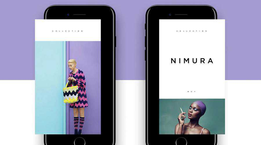 Fashion Magazine free mobile app ui kit Sketch ios android