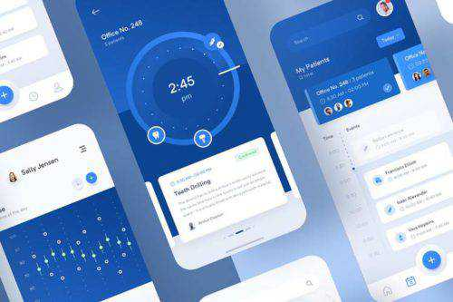 50 Free Mobile UI Kits for iOS & Android