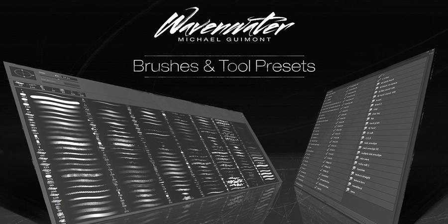 Wavenwater Photoshop Brushes Tools Presets Free ABR