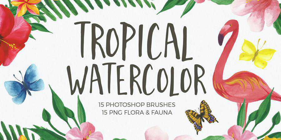 Watercolor Brushes for Photoshop ABR