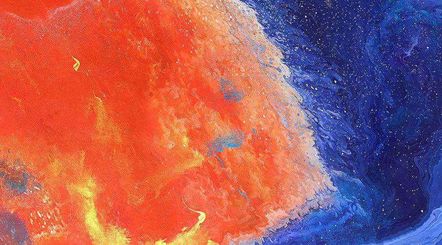 Fluid Art Abstract desktop wallpaper hd 4k high-resolution