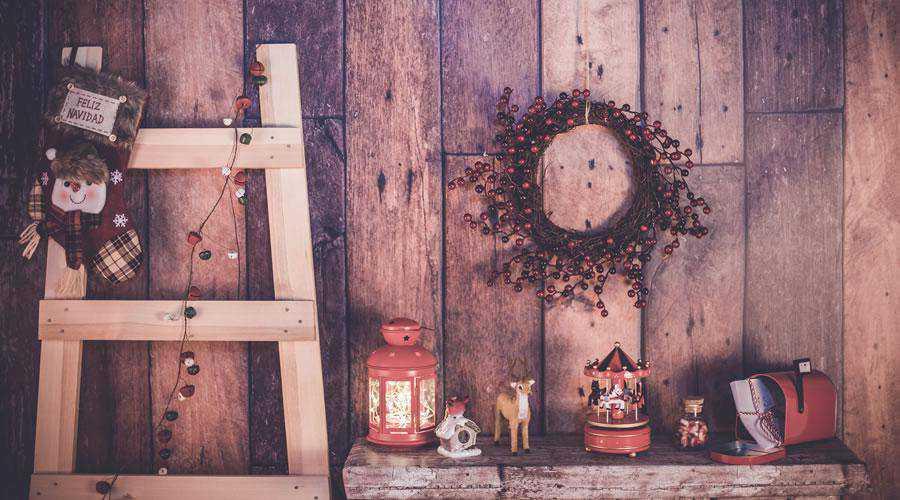 Feliz Nevidad Rustic Christmas Scene hd wallpaper desktop high-resolution background