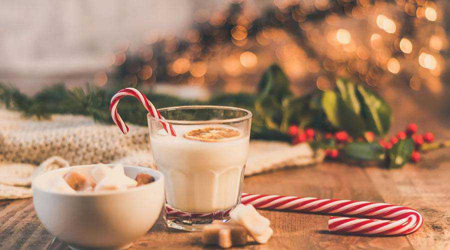 Festive Cookies & Milk christmas hd wallpaper desktop high-resolution background