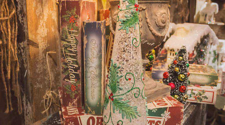 Vintage Happy Holidays christmas hd wallpaper desktop high-resolution background