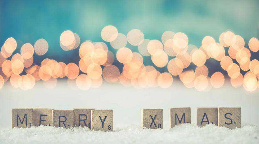 Bokeh Merry Christmas hd wallpaper desktop high-resolution background