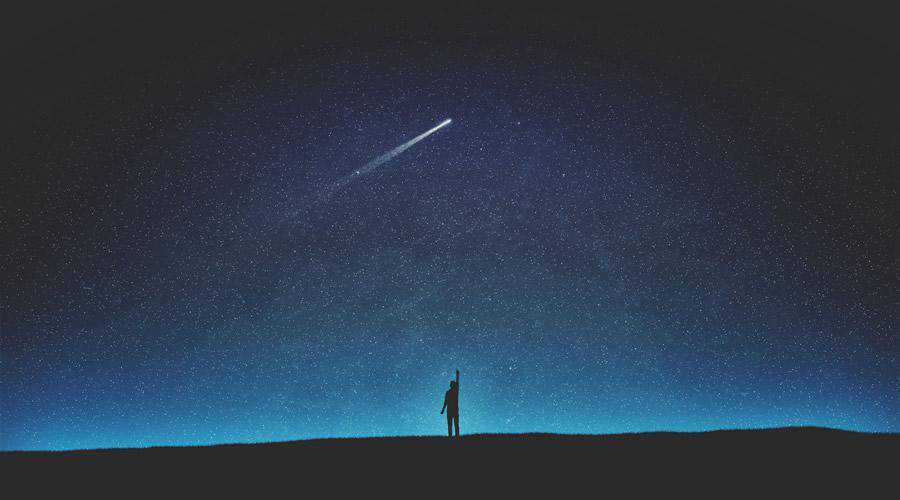 Shooting Star minimal minimalistic desktop wallpaper hd 4k high-resolution