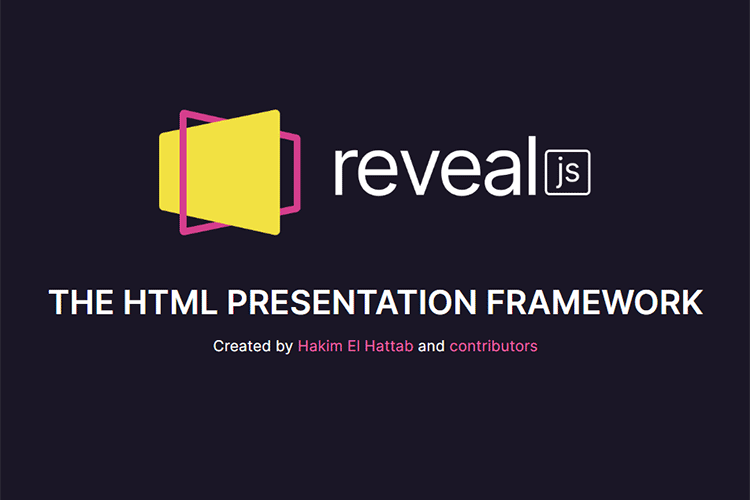 Example from reveal.js