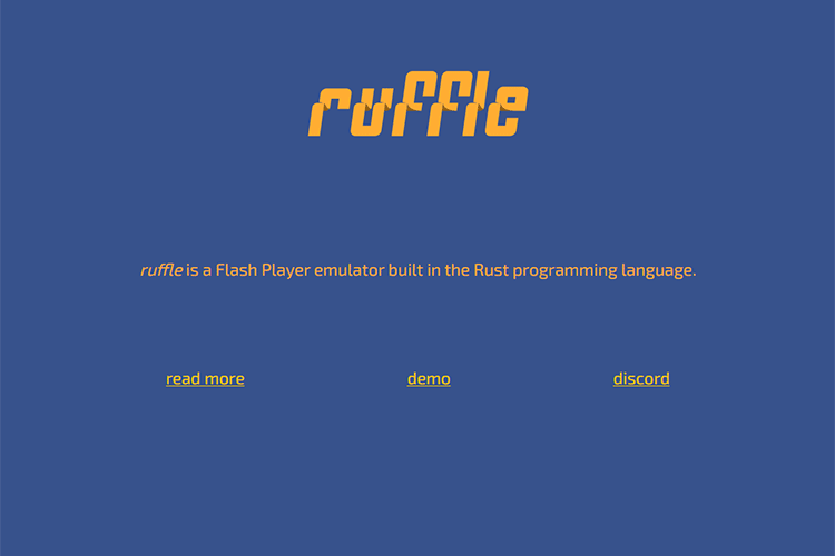 Example from Ruffle