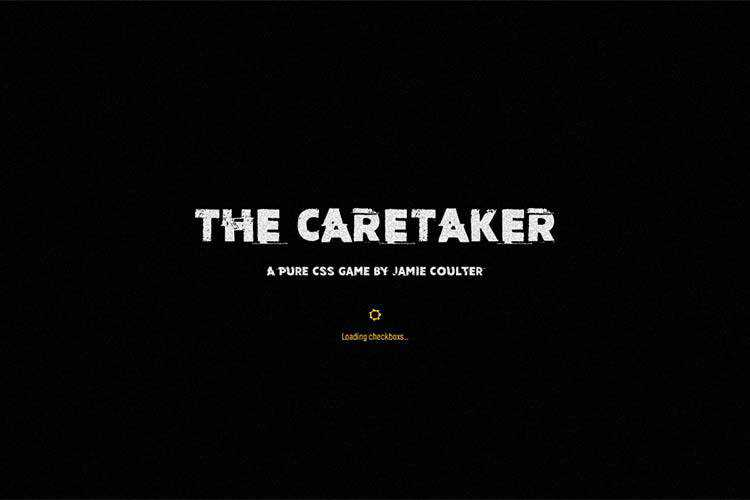 Example from The Caretaker