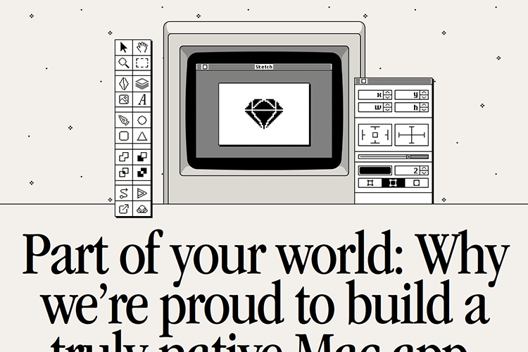 Example from Part of your world: Why we're proud to build a truly native Mac app