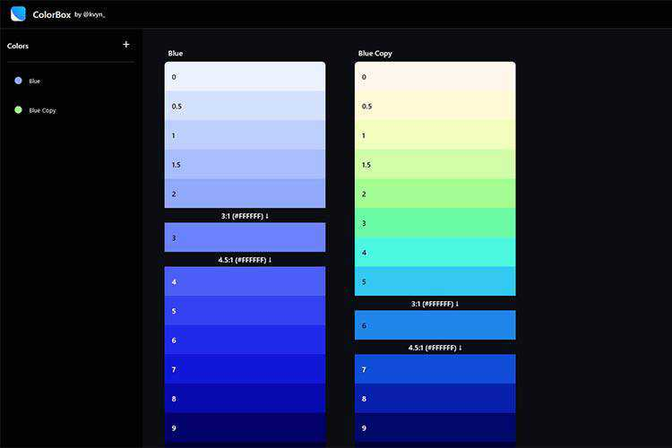 Example from ColorBox