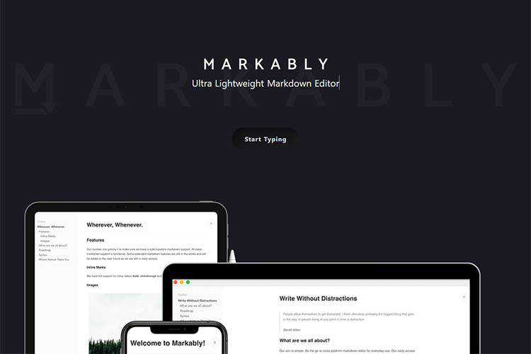 Example of Markably