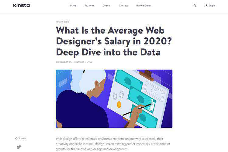 Example of What Is the Average Web Designer's Salary in 2020? Deep Dive into the Data