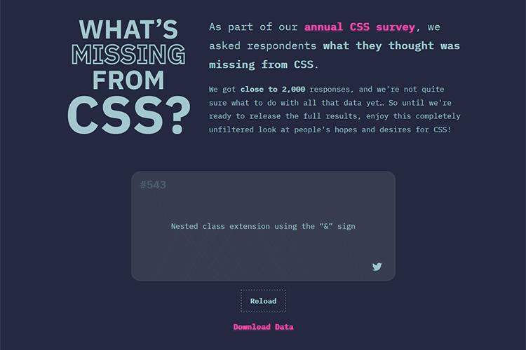 Ejemplo de ¿Qué falta en CSS?