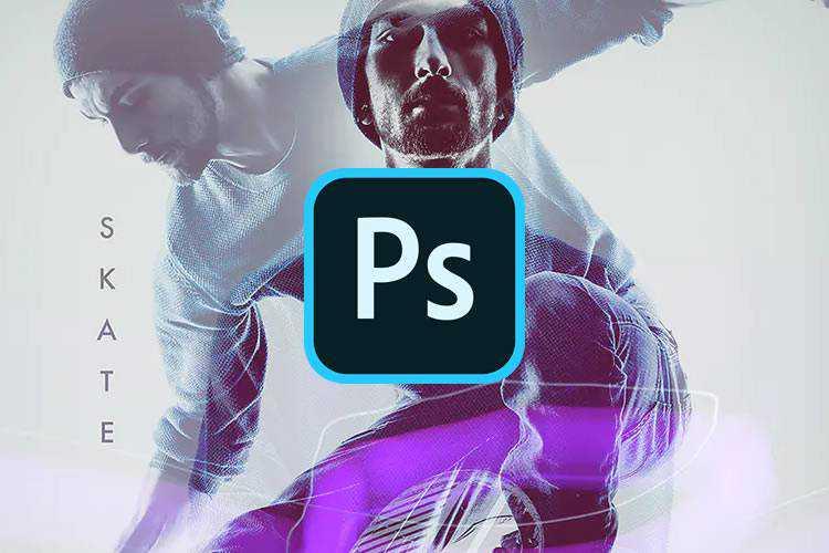 Ejemplo de las 12 mejores acciones de Photoshop para usar para crear el efecto duotono