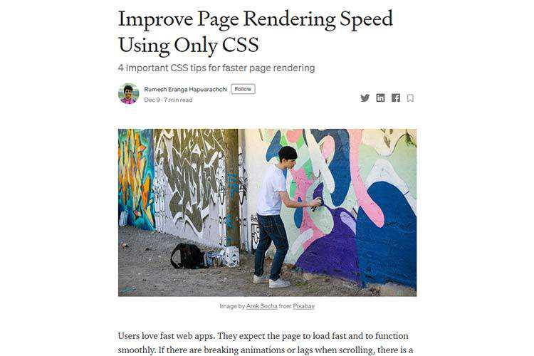 Example from Improve Page Rendering Speed Using Only CSS