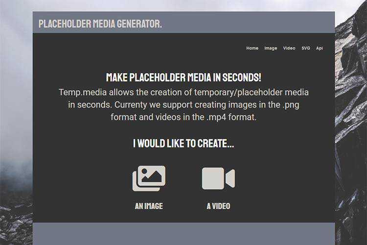 Example from Temp.media