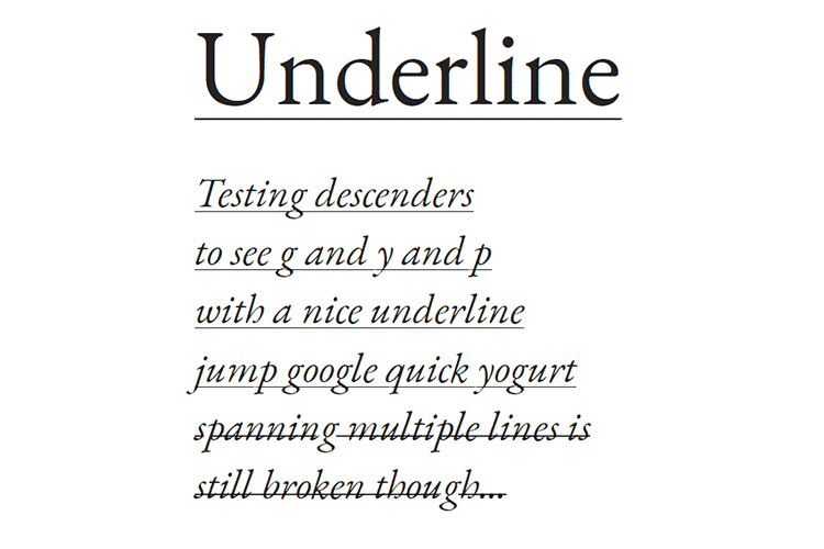 Example from 8 Ways for Bringing Creativity to Hyperlinks with CSS & JavaScript