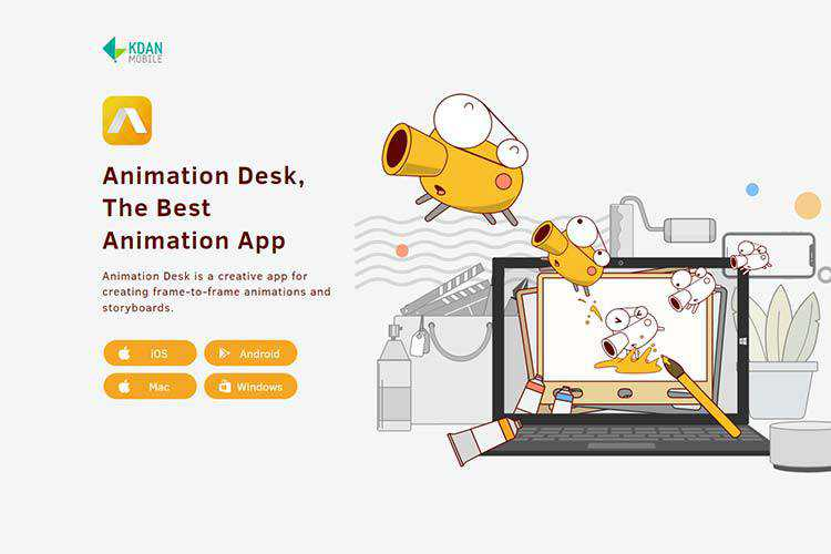 Example from Animation Desk