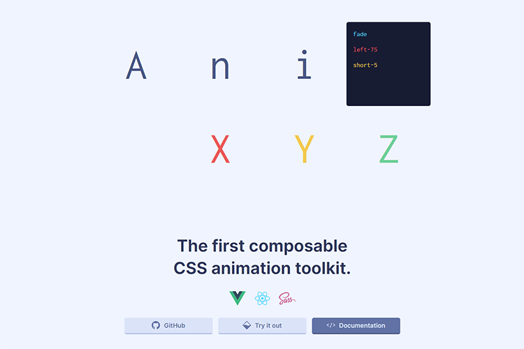 Example from AnimXYZ