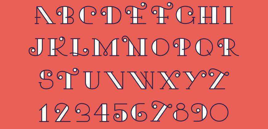 Kari free clean font typeface