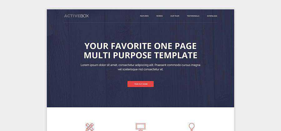 ActiveBox html5 template website responsive free