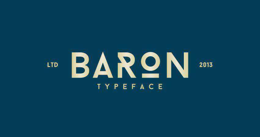 Slab Serif Free Font Designers Creatives Baron Sans Serif