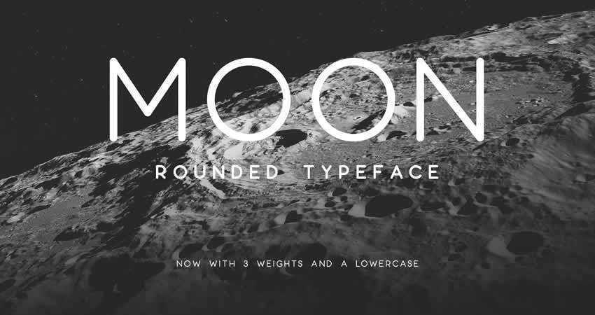 Sans Serif Free Font Designers Creatives Moon Rounded Sans