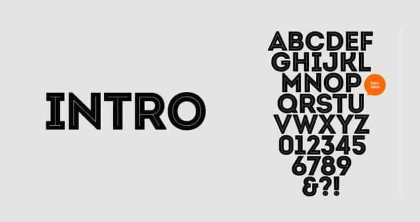 Sans Serif Free Font Designers Creatives Intro Sans Serif