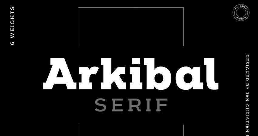 Serif Free Font Designers Creatives Arkibal Serif