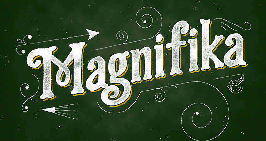 Serif Free Font Designers Creatives Magnifika