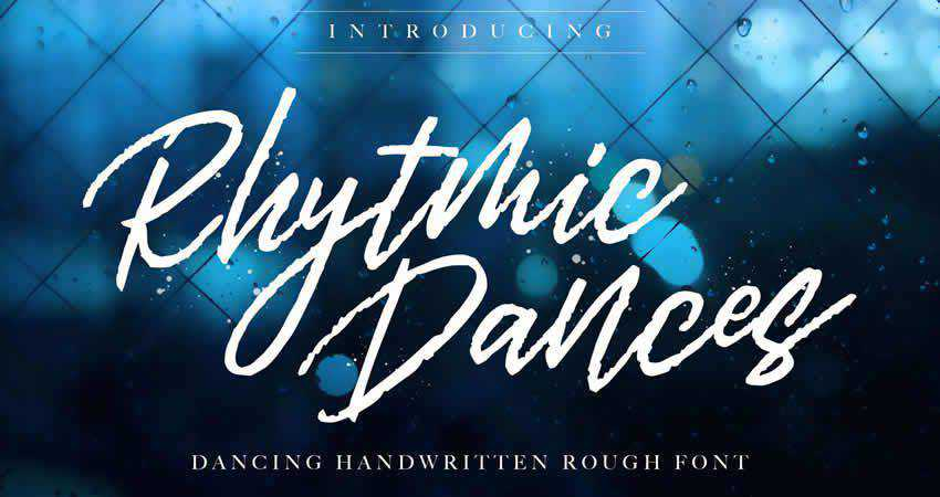 Serif Free Font Designers Creatives Rhytmic Dances