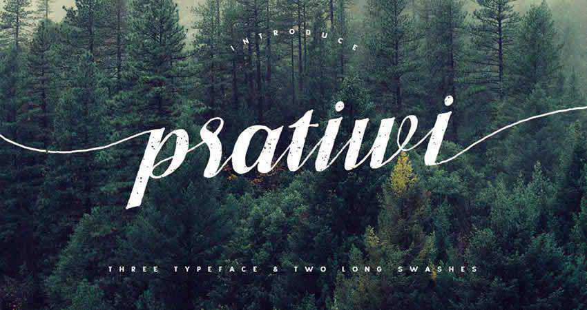Serif Free Font Designers Creatives Pratiwi Typeface