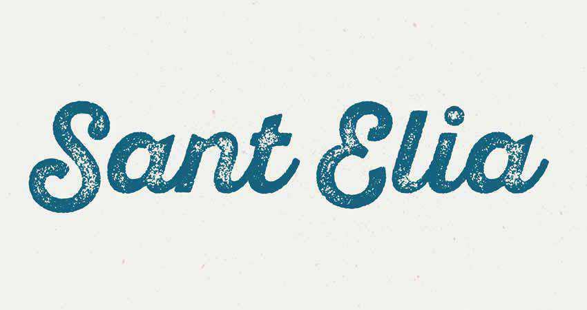 Serif Free Font Designers Creatives Sant'Elia Font Family