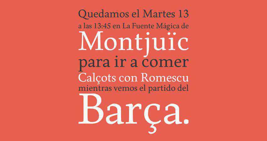 Serif Free Font Designers Creatives Born Serif Typeface