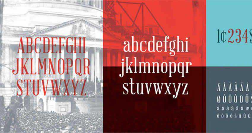 Serif Free Font Designers Creatives Abraham Lincoln Serif