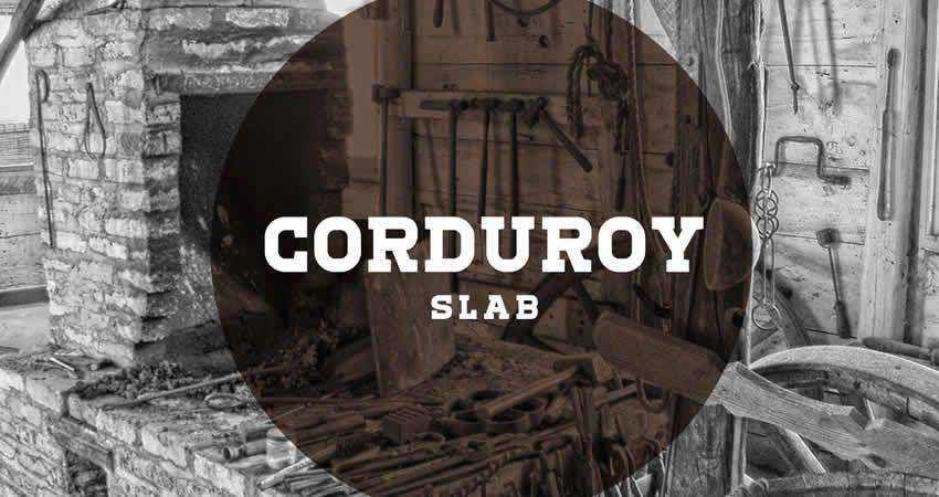 Slab Serif Free Font Designers Creatives Corduroy Slab Regular