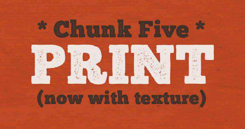 Slab Serif Free Font Designers Creatives Chunk Slab Serif