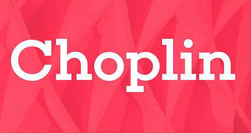 Slab Serif Free Font Designers Creatives Choplin Slab Serif