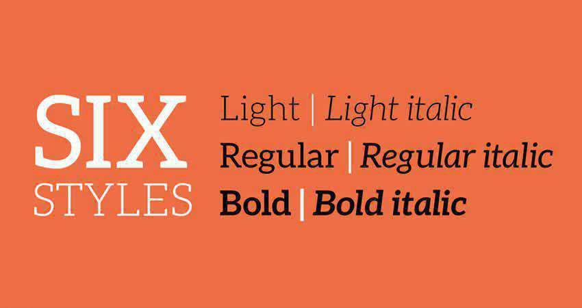Slab Serif Free Font Designers Creatives Aleo Slab Serif