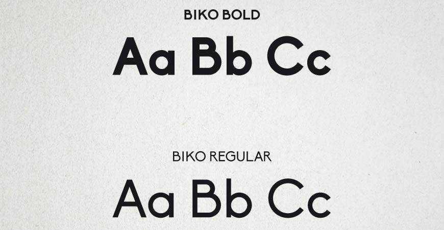 Biko free title headline typography font typeface