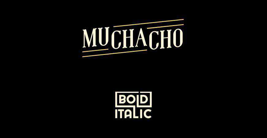 Muchacho free title headline typography font typeface