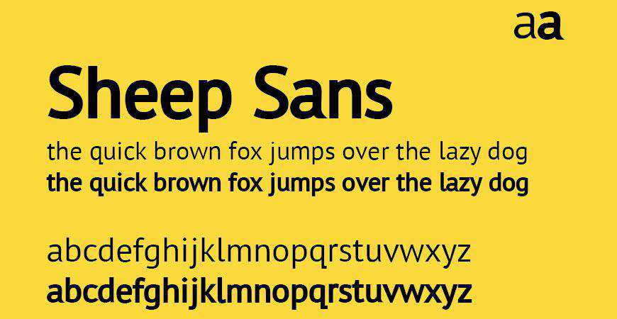 Sheep Sans free title headline typography font typeface