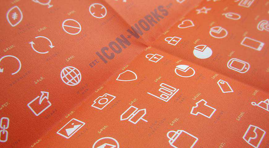 Icon-Works Free Icon Font @fontface webfont free