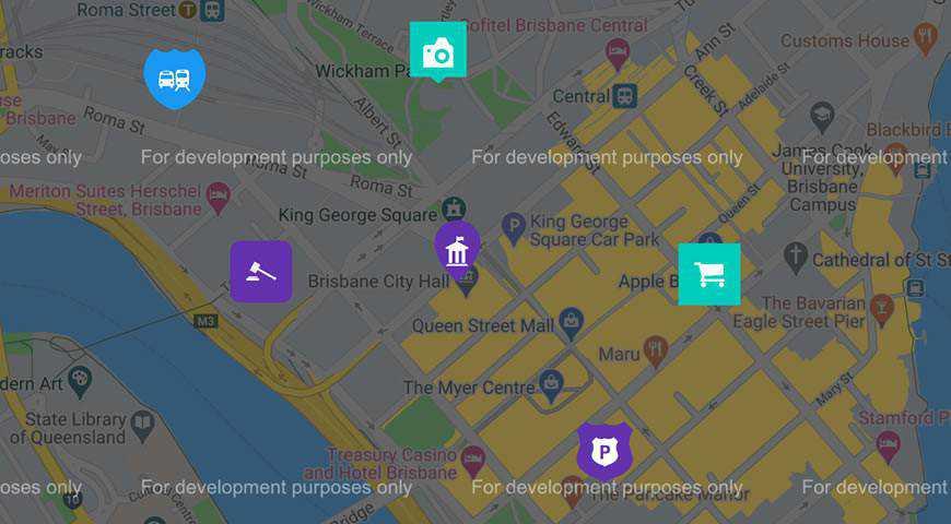 Map Icon Marker Font @fontface webfont free