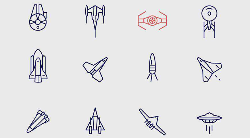 Infinity Space Icons @fontface webfont free