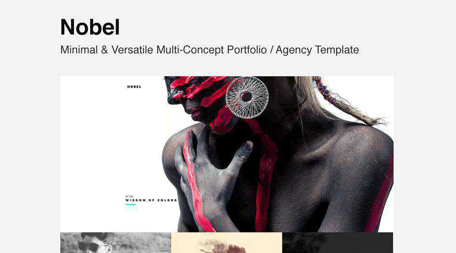Nobel Minimal Versatile Multi-Concept Template